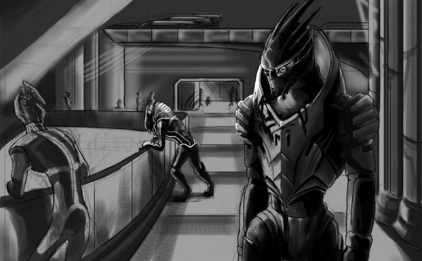 A New Mass Effect Fic: Forgiven