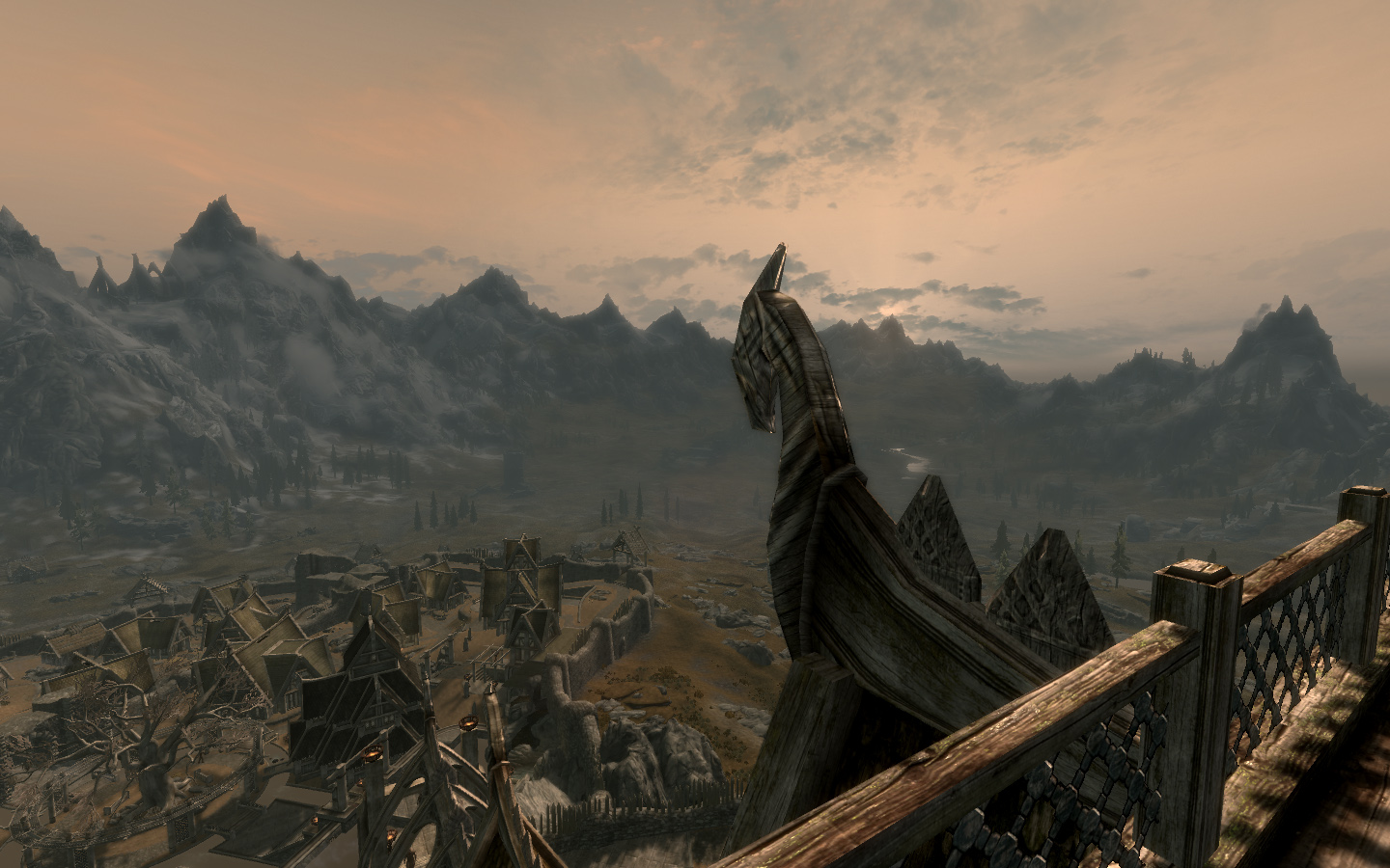 Open Cities: Whiterun from above