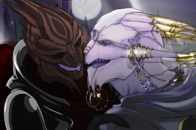A New Mass Effect Fic: Bejeweled