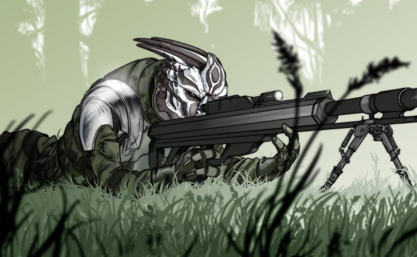 Fanart (!) for TTSS: Sniper Nihlus